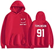 Sweater Hoodie Hoody Louis Tomlinson 91 One Direction Combination Men And Women Hoodies Hooded Sweatshirts Tra