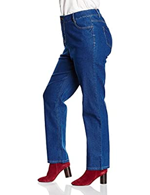 New Look Curves Women's Straight Skinny Jeans