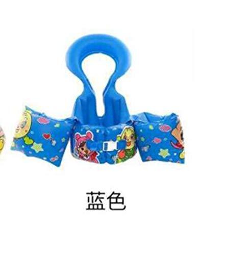 LMYG Beste Schwimmringe für Kinder Beste Schwimmringe für Baby Schwimmringe Achselringe Kinder Geeignet für Kinder Schwimmen Kinder Schwimmen Anfänger,Blue