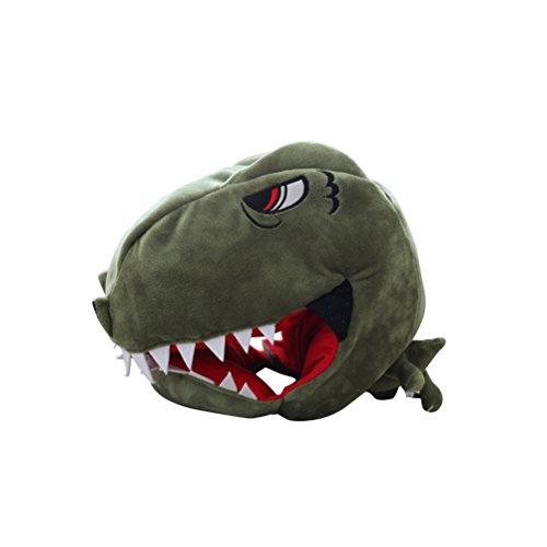 Amosfun Dinosauriermütze für Erwachsene, Kinder, Dinosaurier-Kostüm, Zubehör, lustige Hüte für ()