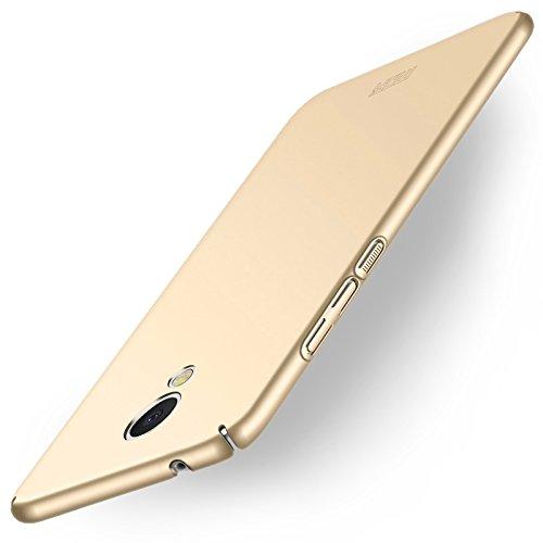 Proteggi il tuo telefono, MOFI Per Meizu M5S PC Ultra-sottile bordo completamente avvolto in copertina protettiva di copertina ( Colore : Oro )