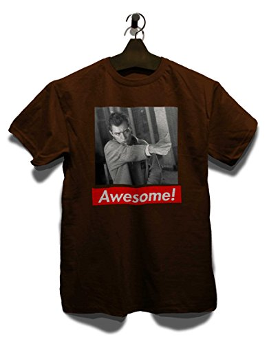 Awesome 42 T-Shirt Braun