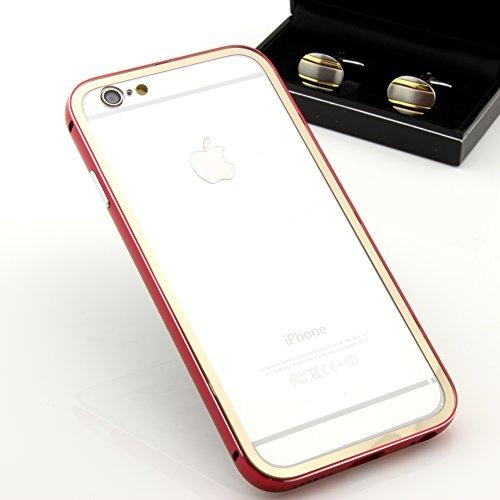 Original Urcover® Apple iPhone 6 Plus /6s Plus Aluminium Bumper ( 5.5 Zoll) Case Schutz Hülle [DEUTSCHER FACHHANDEL] Alu Metal Rahmen Cover iphone6 Hell Blau Gold