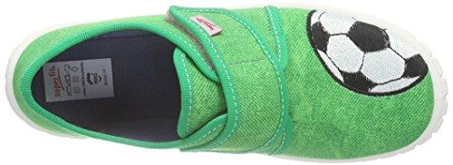 Superfit Bill, Chaussons garçon Vert (grün 09)