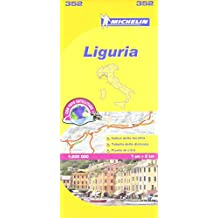 Liguria Michelin Local Map 352 (Michelin Regional Maps)