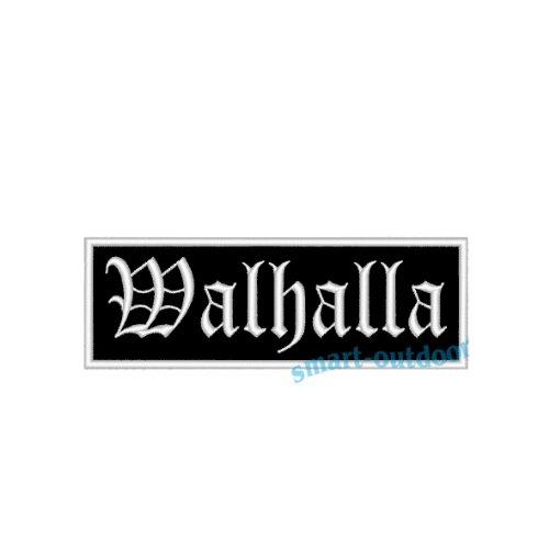 Aufnäher/Patch Walhalla in vielen Größen (12 x 4cm)