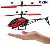 X-Zini Hand Induction Control Flying Helicopter Toy with Infrared Sensor, USB Charger