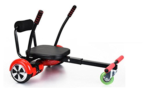 Hoverkart Transformer Votre Hoverboard En Karting Mousse Noir Et Roue Bleu