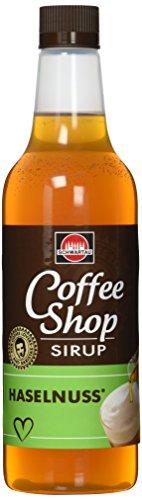 Schwartau Coffee Shop Haselnuss, Kaffeesirup, 6er Pack (6 x 650 ml Flasche)