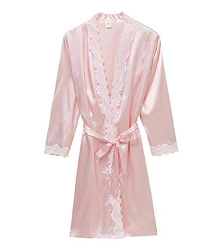 Marcus R Caveggf Frauen Nachthemden Sexy Babydoll Chemise Kleid Nachtwäsche, 165 (l) - Charmeuse Babydoll Set