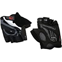 Ultrasport Function Bicycling Glove with Gel Insert and Terry-Cloth Thumb for Men and Women