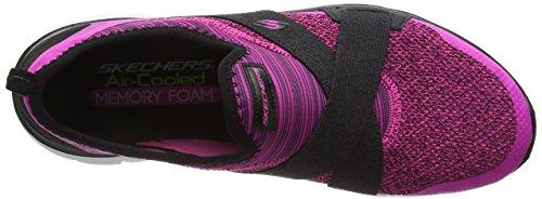 Skechers Flex Appeal 2.0 New Image, Baskets Basses Femme Rose - Pink (Hpbk)