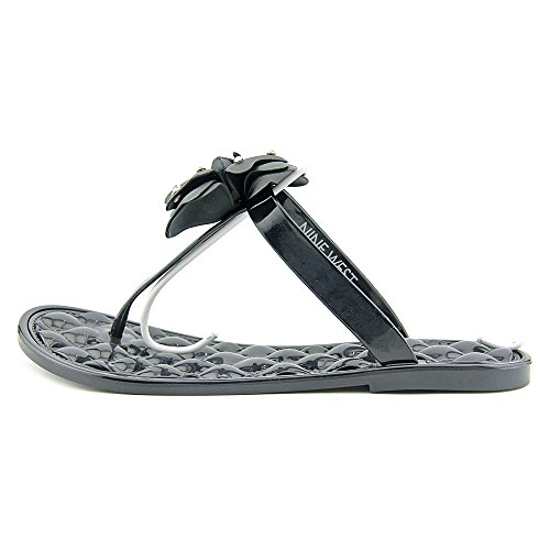 Nine West Braylyndz Synthétique Tongs Black