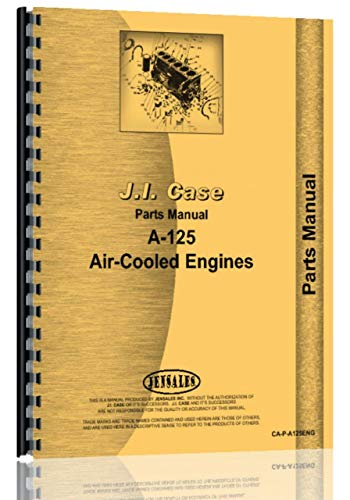 Case A-125 Motorteile Handbuch