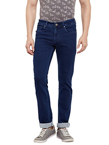 Numero Uno Mens Blue Slim Fit Low Rise Jeans (Morice Fit) (34)  available at amazon for Rs.1127
