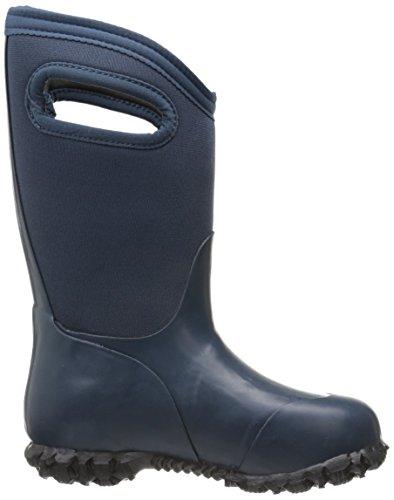 Bogs Kids Durham Solid Waterproof Insulated Boot Navy