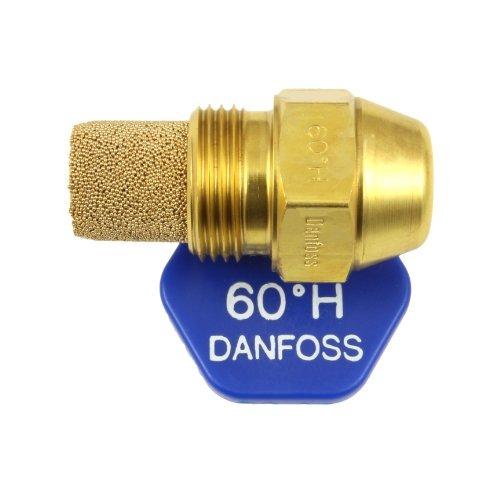 Danfoss Oil Fired Boiler Burner Nozzle 1.00 x 60 H USgal/h ° Degree Spray Pattern 1.0 Heating Jet 3.72 Kg/h