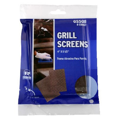 Royal Griddle and Grill Cleaning Screens, Package of 8 by Royal