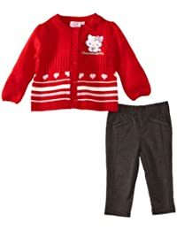 Charmmy Kitty HM0136 Baby Girl's Cardigan and Legging Set
