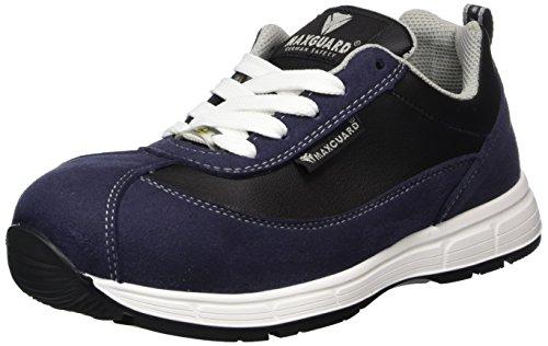 Maxguard Shadow S035 - Zapatos de Seguridad Unisex, Color Schwarz, Talla 47