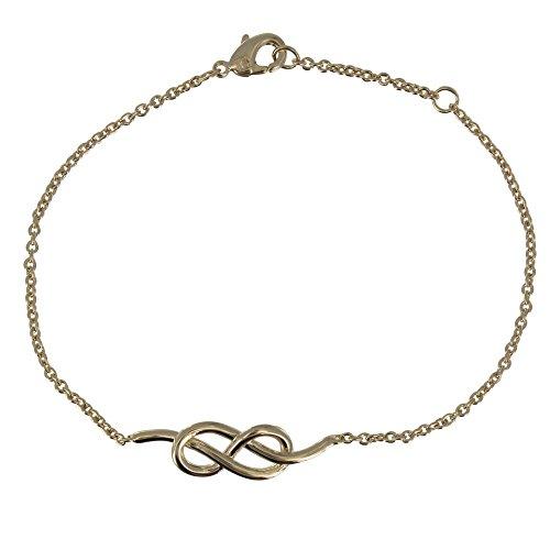 s - Vergoldet Armband Seemann Knoten (Seemann Knoten-armband)