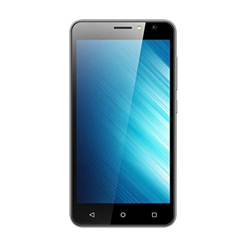G one Teléfono móvil Smartphone libre 5.0 pulgadas 1GB + 8GB 4G Dual Sim para Android 7.0 Barato teléfono enchufe de la UE (Negro)