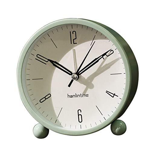 Despertador Digital Reloj Alarma Despertador redondo silencioso ...