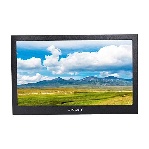 WIMAXIT 13.3 Zoll IPS 1920X1080 16: 9 Display Aluminium Gehäuse HDMI Monitor Bildschirm Spiel Monitor für PS3 / PS4 / X box / Raspberry PI