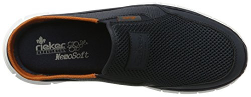 Rieker Herren B4879 Clogs Blau (denim/atlantis / 14)