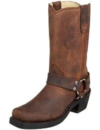 Durango RD594 - Botas estilo motero de cuero para mujer