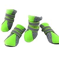 Samgu Pet Chaussons Bottes pour Chien Confort Respirante de Protection Chaussures