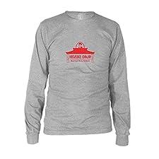 Hazuki Dojo - Herren Langarm T-Shirt, Größe: S, Farbe: grau meliert