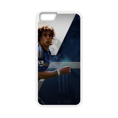 David Luiz coque iPhone 6 Plus 5.5 Inch Housse Blanc téléphone portable couverture de cas coque EBDXJKNBO13209