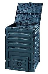 Graf 628001 Komposter Eco-Master, 450 L, schwarz