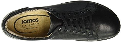 Jomos Allegra, Chaussures à Lacets Femme Noir - Schwarz (15-000 Schwarz)