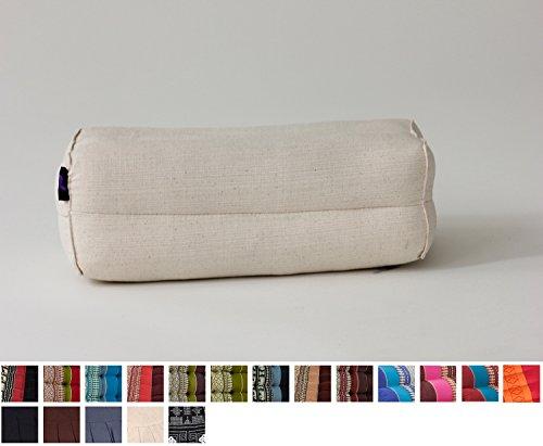 Bloque de Yoga, 35x15x10 cm, Capok, Blanco