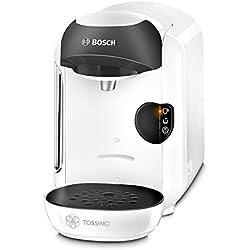 1 de Bosch CAFETERA MULTIBEBIDA TAS1254 TASSIMO, 450 W, 0.7 litros, 1.5, Plástico, Blanco y negro