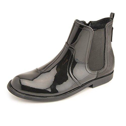 Start-rite Equestrian Nero Brevetto Girls Boot, Nero