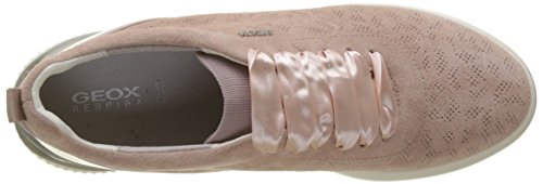 Geox Damen D Theragon C Sneaker Pink (Antique Rose)