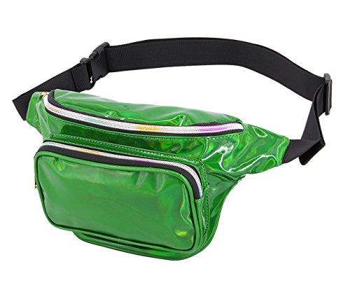 90S - Riñonera verde verde talla única