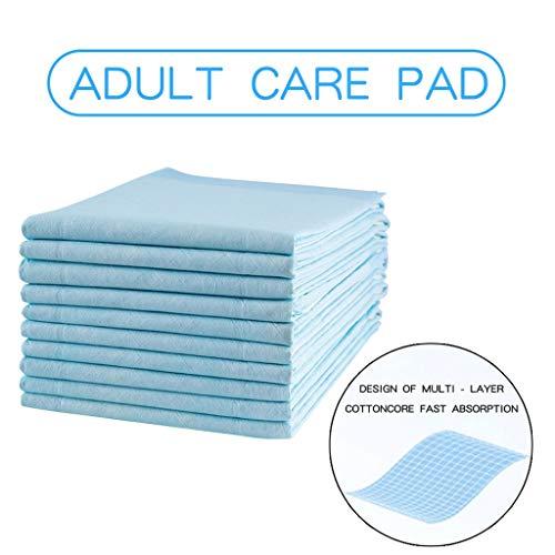 TianranRT Heavy Saugfähigkeit Erwachsene Krankenpflege Matten Windeln Einwegartikel Pflege Pads (10x) -