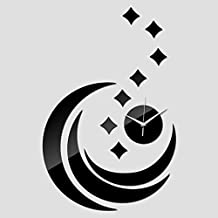 Lxlnxd Pastoral De Acrílico De Cuarzo Reloj De Pared En La Decoración Del Hogar Moderno De Lujo Relojes De Réplica Relojes De Cristal