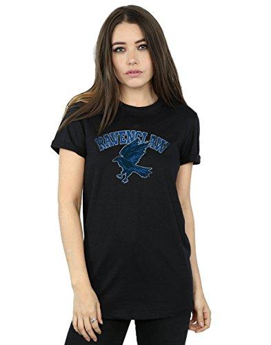 Harry Potter Women's Ravenclaw Sport Emblem Boyfriend Fit T-Shirt