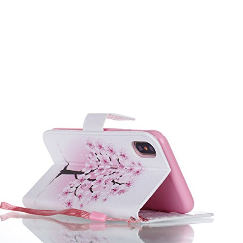Custodia iPhone X iPhone X Custodia Pelle JAWSEU iPhone X