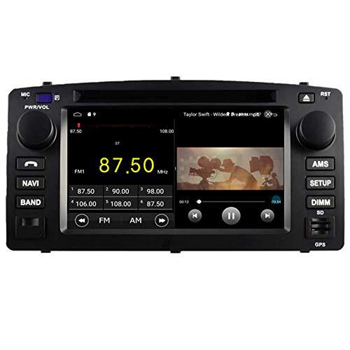 Autosion Android 7.1Cortex A91,6g Auto DVD Player GPS Stereo Head Unit Navi Radio Multimedia Wifi für Toyota Corolla 2004200520062007Stütze Lenkrad Kontrolle (Toyota Corolla 2006 Auto Stereo)
