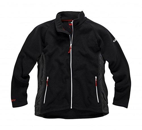 Gill Herren Sail Fleece Jacket Black/Graphite