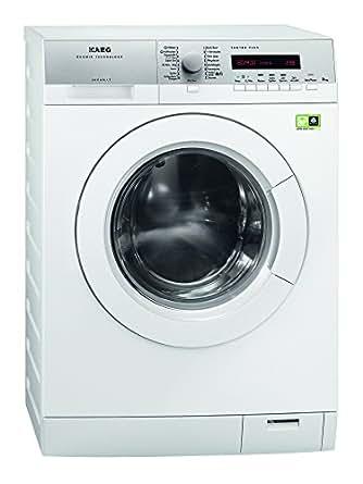 AEG L79485FL Waschmaschine Frontlader Lavamat / EEK A+++ / 97 kWh / 1400 UpM / 8 kg / 10299 L/Jahr / Weiß / Öko-Invertermotor / Dampfprogramme [Altes Modell]