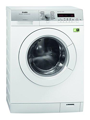 AEG L79485FL Waschmaschine Frontlader Lavamat / EEK A+++ / 97 kWh / 1400 UpM / 8 kg / 10299 L/Jahr / Weiß / Öko-Invertermotor / Dampfprogramme