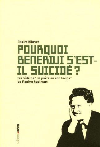 Pourquoi Benerdji s'est-il suicid ?