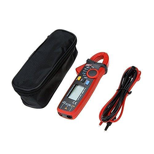 UNI-T UT210E Digital Clamp Meter Multimeter Handheld RMS AC/DC Mini Widerstand Kapazität Tester (UT210E) Mini Clamp Meter
